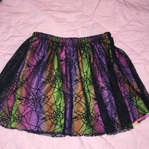 Other - Spiderweb Skirt- Size 5T